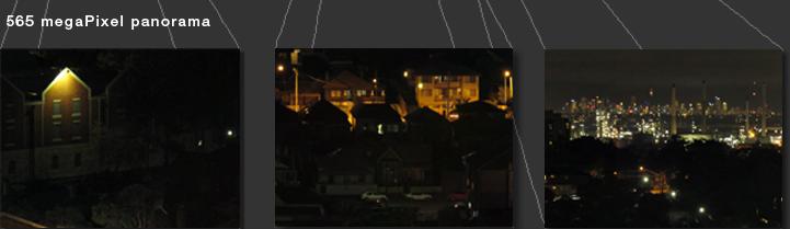550 megaPixel panorama